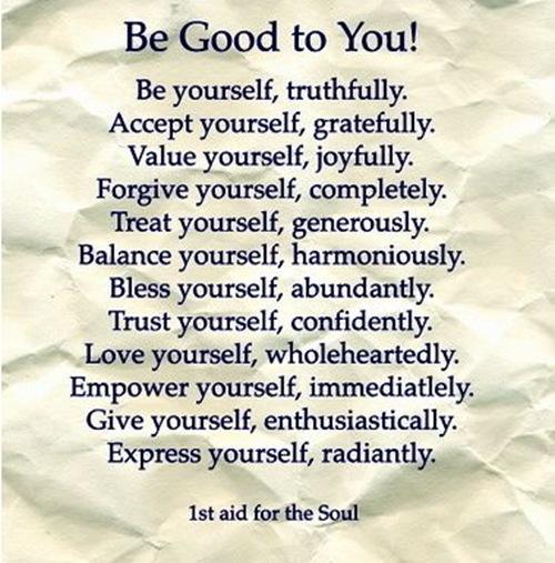 hou van je zelf