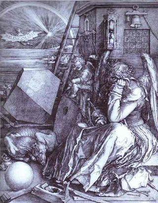 Albrecht-Durer-Melencolia-I